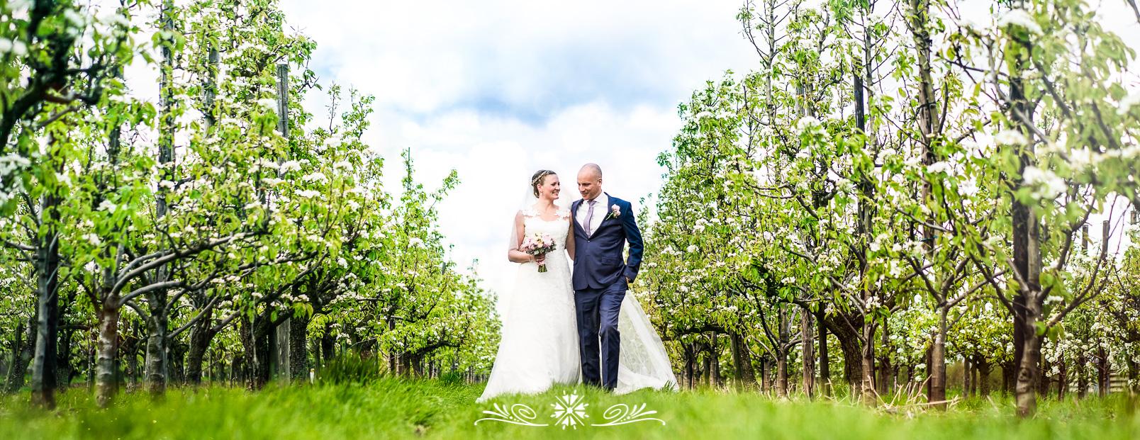 bruiloft fotografie bloesem