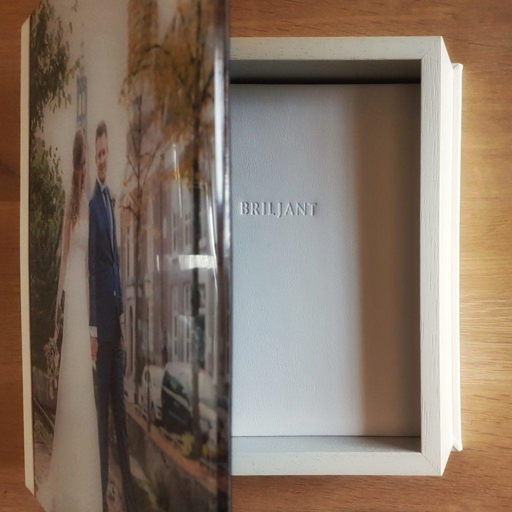 basisalbum in opbergbox Briljant Bruidsfotografie