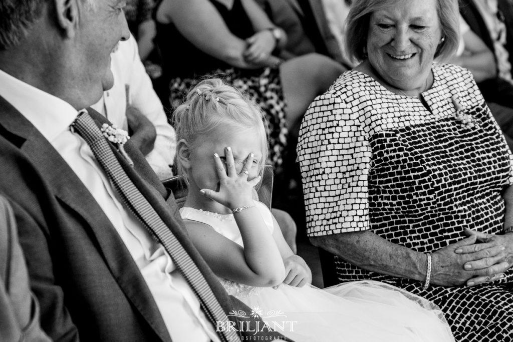 bruidsmeisje trouwfoto