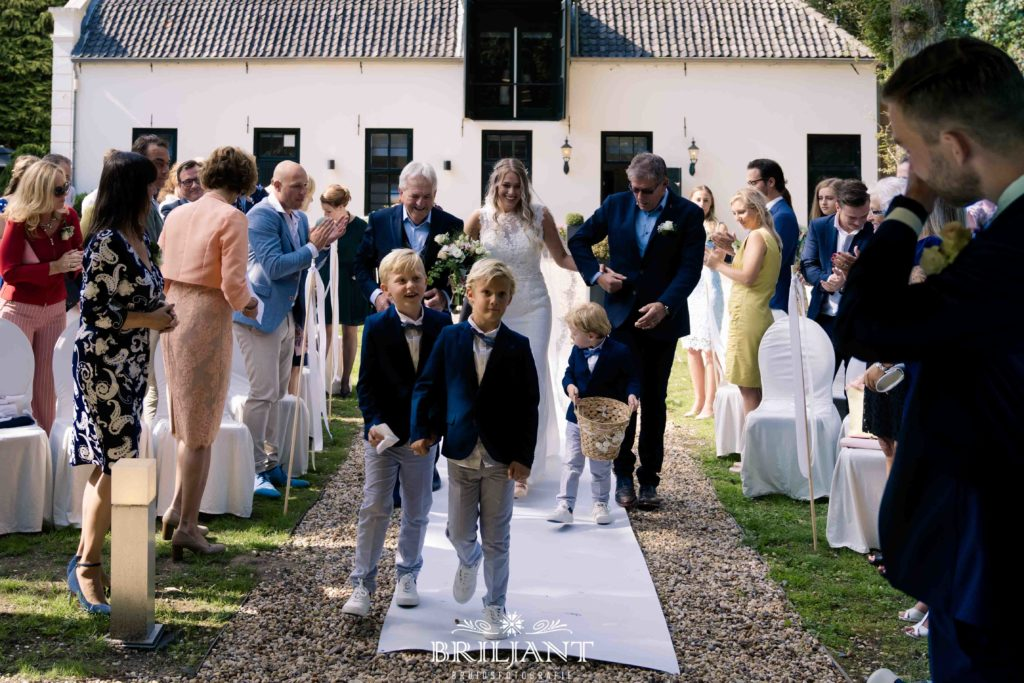 Bruiloft Mauritshoeve Bilthoven