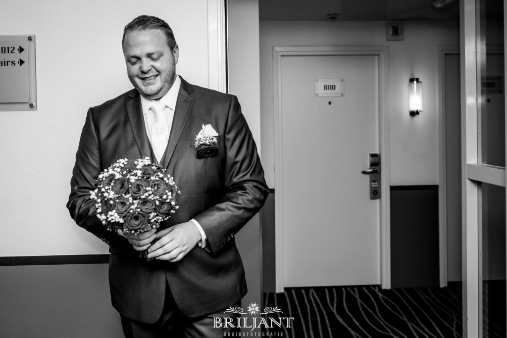 Bruidegom Inntel Hotel Rotterdam