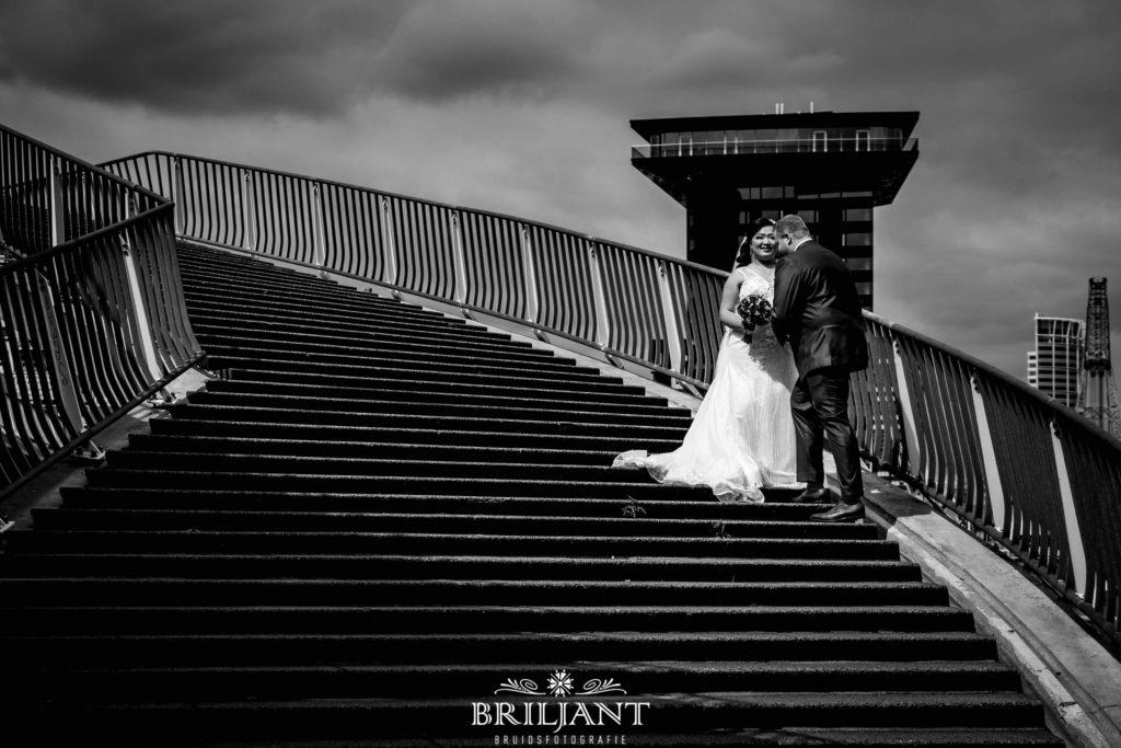 Rotterdam Inntel Hotel bruidspaar