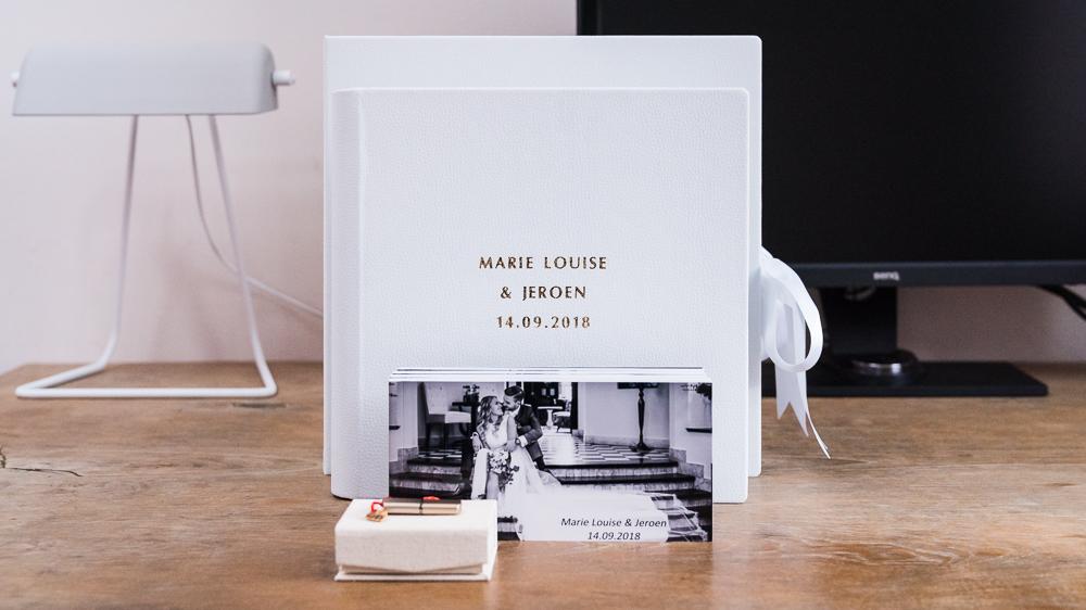 luxe album bruiloft