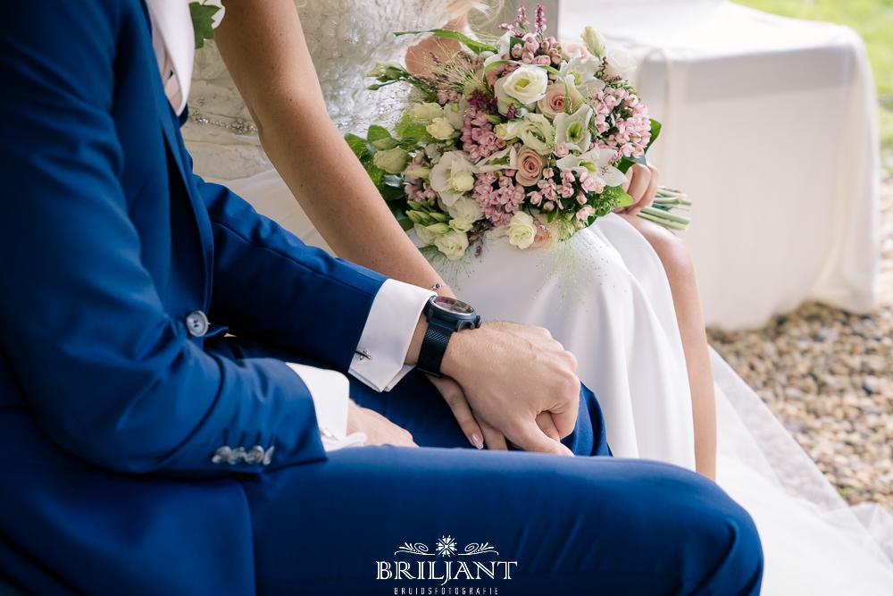 details bruiloft handen